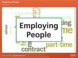 employing people